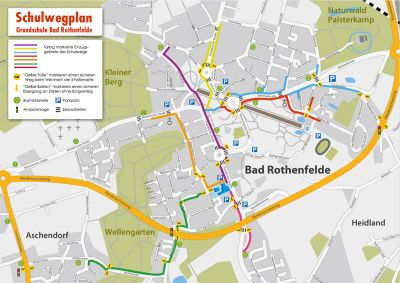 Schulwegplan zum Download